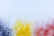 Splash multicolor texture watercolor, use for background.