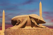 Statue Of Khepri The Sacred Sc...