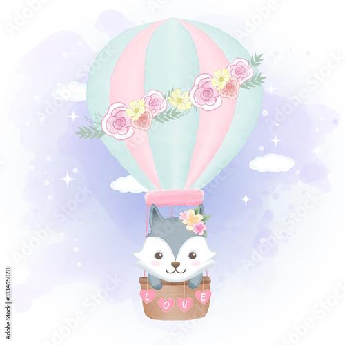 sliczny-lis-unosi-sie-na-balonie