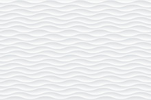 White Abstract Wavy Texture. S...