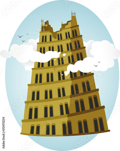 Foto babel tower
