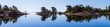 Schwedische Schären Panorama mit Spiegelung