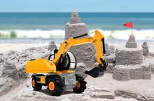 Sand Castle Under Construction...