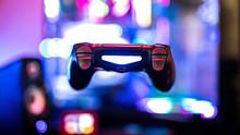 Levitating PS4 Controller