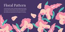 Beautiful Flower Illustration Design Template