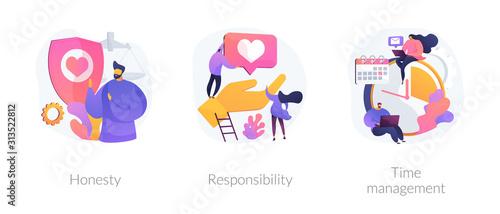 Fotografía  Personal and professional skills icons set