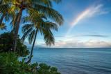 Fototapeta Tęcza - Pacific Island Seascape