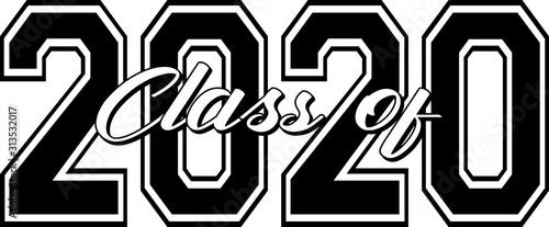 Class of 2020 Canvas Print