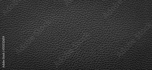 Obraz black leather texture background - fototapety do salonu