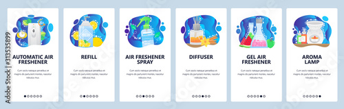 Aroma diffuser, automatic air freshener, aroma lamp, spray Tablou Canvas