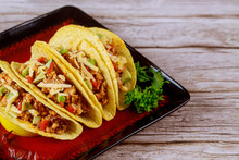 Stuffed Taco Shells, Mexican D...