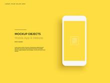 Realistic Smartphone Mockup. C...
