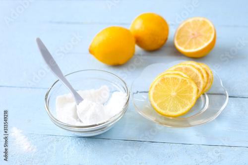 Slika na platnu Alleskönner Zitrone und Natron