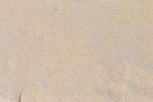 Empty Brown Beach Sand Background, Nature Background, Outdoor Day Light, Nature Texture Background