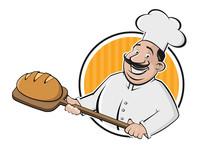 Funny Cartoon Sign Of A Baker ...