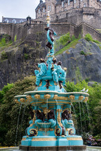 Ross Fountain Princes Street G...