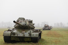 Abandoned Derelict Tanks In A ...