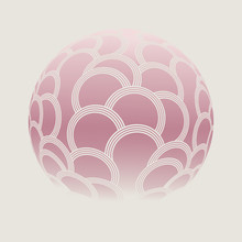 Cells Scales Ball Pink Ivory