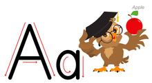 English Alphabet Picture Lette...