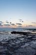 Dawn view on the rocky coastline of Newport Beach, Sydney, Australia.