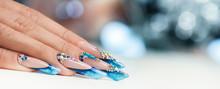 Winter Nail Art Polish, Nails ...