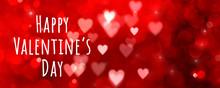 Valentines Day Background Bann...