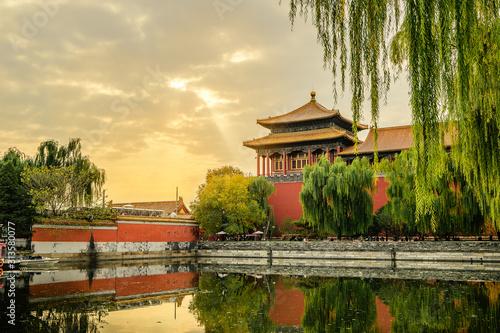 China Beijing Peking - The Forbidden City Fototapet