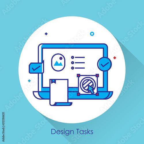 Fotografía Task manager app