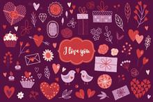 Valentine's Day Design Element...