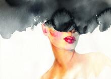 Beautiful Woman. Fashion Illus...