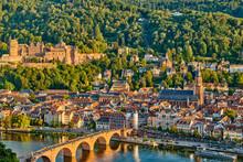 Heidelberg Town On Neckar Rive...