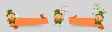 St. Patricks Day Set Of Banner...