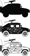 War Humvee Icons