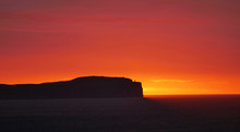 Sunset Over Dunnet Head In Cai...