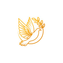 Dove Logo Icon Vector Illustra...