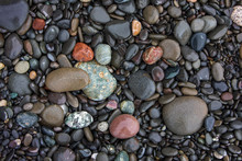 Pebbles On Rialto Beach, Olympic National Park