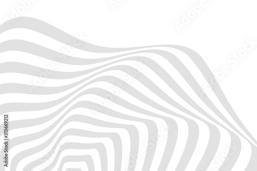 Cuadros en Lienzo Vector abstract illustration of swirl, vortex pattern with smooth lines