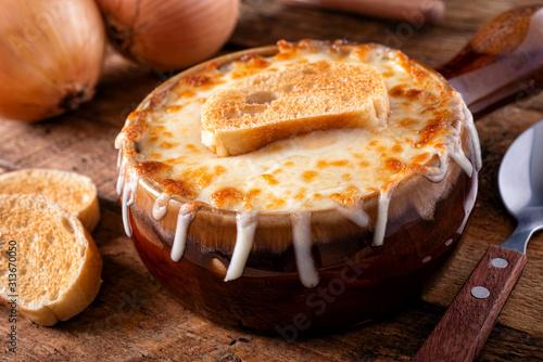 Fototapeta French Onion Soup obraz