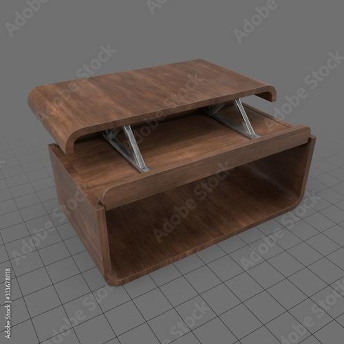 Fototapeta Modern center table obraz