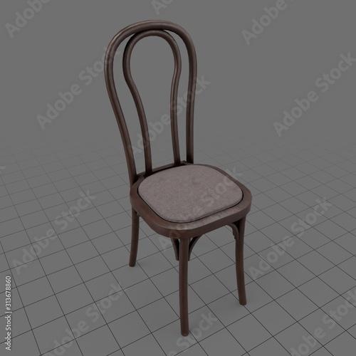 Fototapeta Classic dining chair obraz