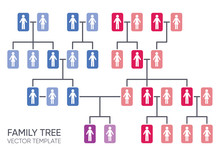 Simple Vector Family Tree Desi...