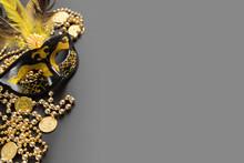 Black And Gold Mardi Gras Back...
