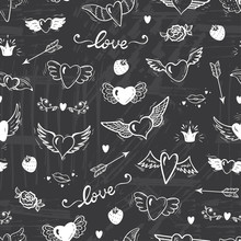 Love Wedding Vector Background...