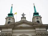 Fototapeta Fototapeta Londyn - Kościół na tle nieba w Warszawie