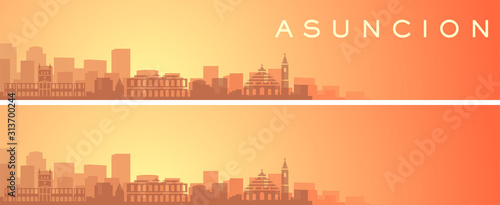 Photo Asuncion Beautiful Skyline Scenery Banner