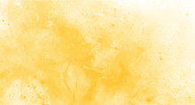 Yellow Watercolor Background F...