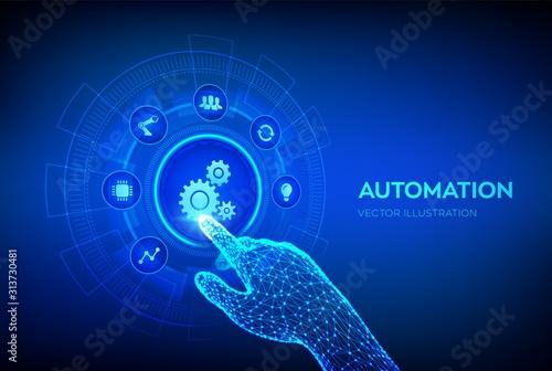Automation Software Canvas Print