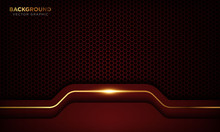 Red Luxury Background With Ove...