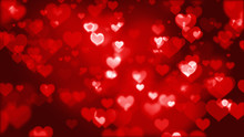 Many Red Hearts Particle Emoti...