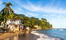 Tropical Beach On A Sunny Day....